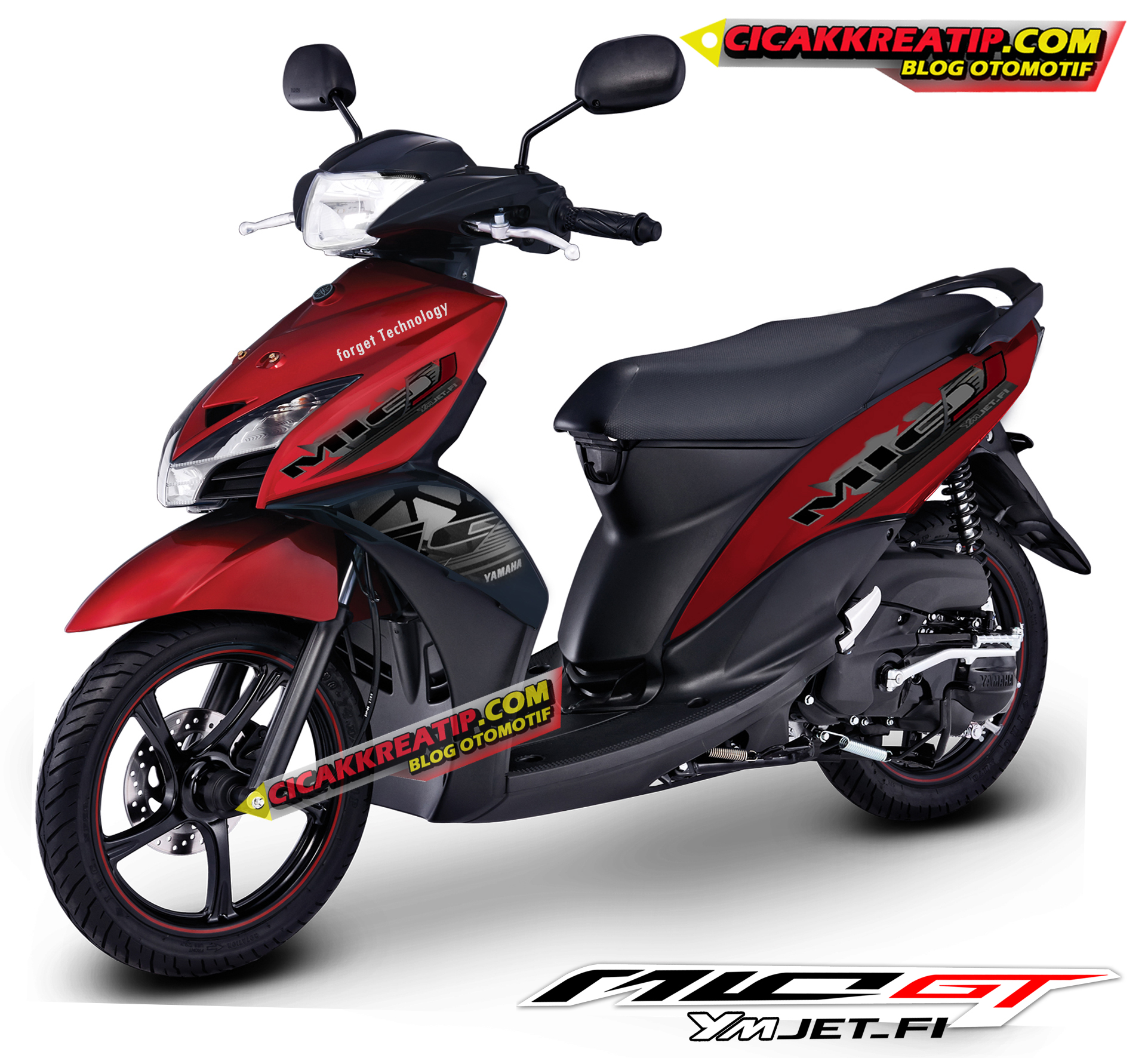 Ide 63 Modifikasi Yamaha Mio Gt 2014 Terkeren Kempoul Motor