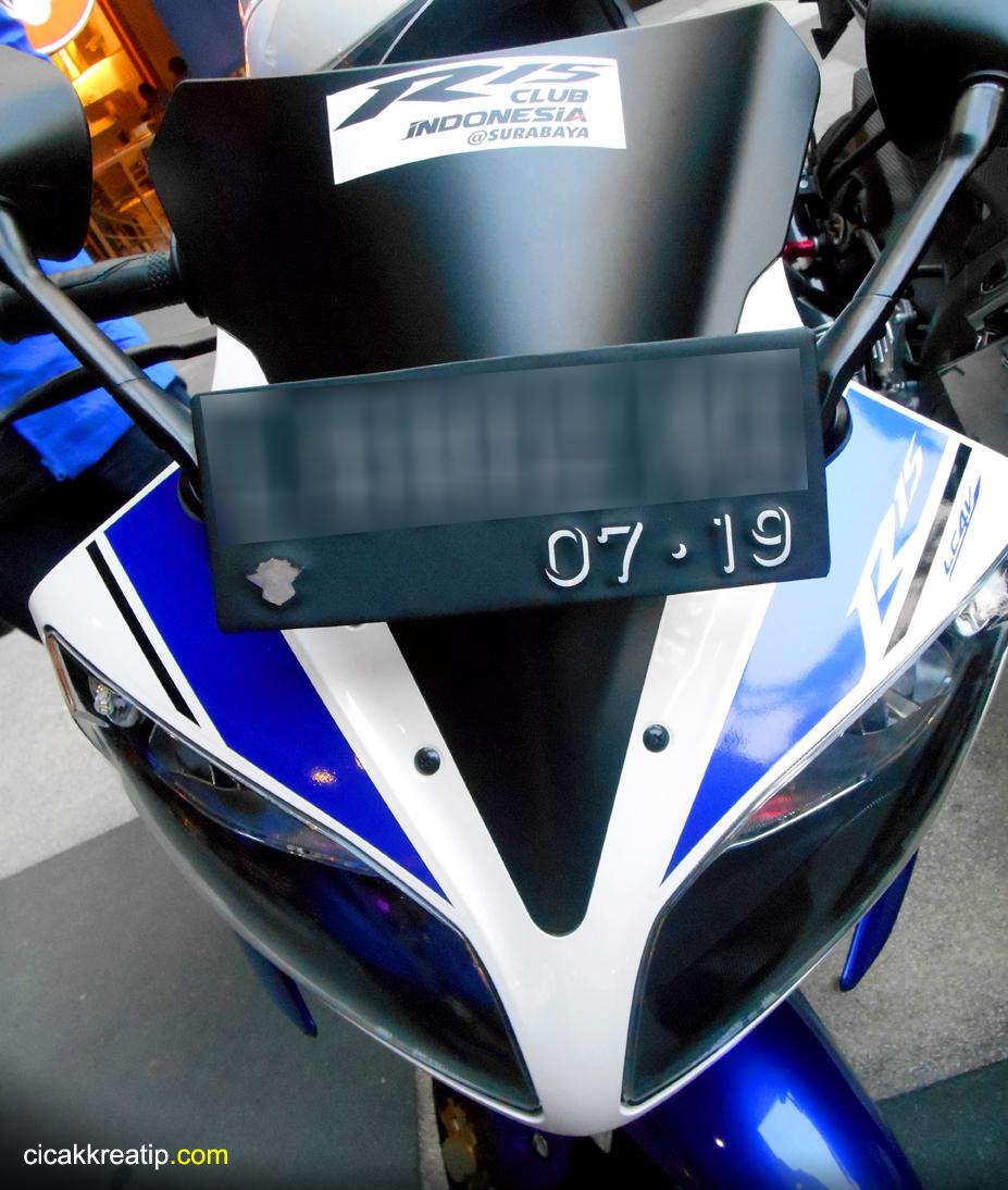 modifikasi lampu depan yamaha r15 terbaru