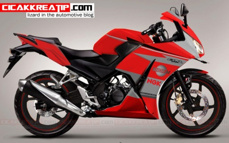 Top modifikasi cbr150r lokal merah