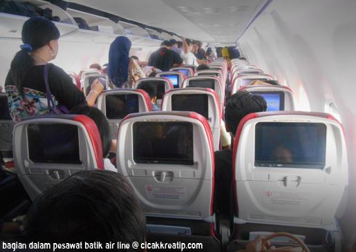 Foto Dalam Pesawat Batik Air Naik Pesawat Batik Air