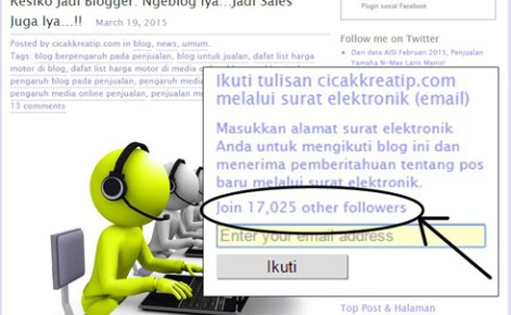 followers cicakkreatip by email 2015