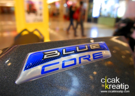 logo blue core