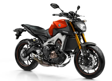 Yamaha MT-09 Blazing Orange