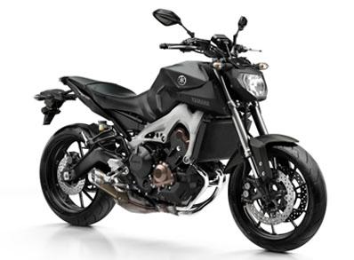 Yamaha MT-09 Matt Grey