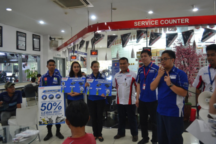 Edukasi Blue Core pada Hari Pelanggan Nasional 2015