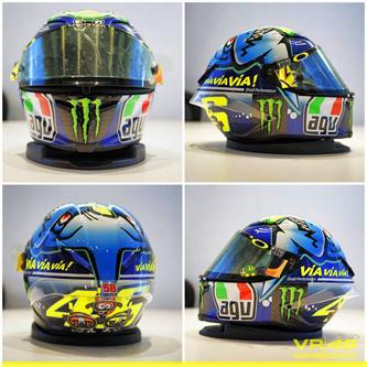 Helm Rossi spesial buat GP Misano San Marino 2015