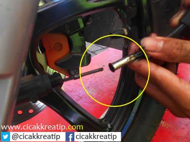 kabel speedometer putus