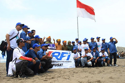 Donasi Yamaha Riders Federation Indonesia (YRFI) untuk veteran Indonesia