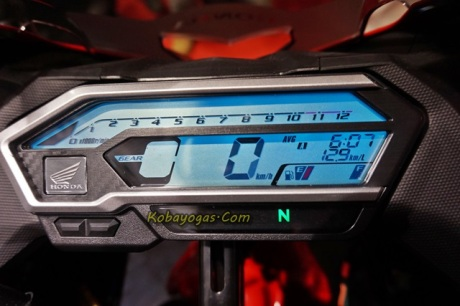 speedometer all new honda cbr150r facelift-cicak
