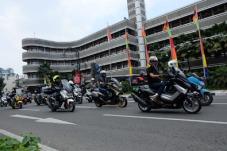 City rolling NMAX di Jambore Nasional pertama Indonesia Max Owners (IMO) dan Ultah pertama Bandung Nmax Community (BNC) (4)